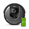 Robotický vysavač iRobot Roomba i7 (7154) s inteligentním mapováním Imprint, který se dokonaleorientuje v celém prostoru. Dokonalepovysává i obrovský prostor. Prvotřídní funkce automatického vysypávání sběrného koše. Čistící systémAeroForce se3 stupni. Robota lzeovládat i pomocí Vašeho mobilního telefonu, anebo tabletu, stačí jen stisknouttlačítko Clean. Vysavač je vybavenbočními kartáči, které si poradí s těžce dostupnou nečistotu v různých zákoutí. Výkonný sací motor.