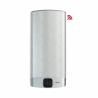 Ariston VELIS WIFI 50 je nástěnný ohřívač, jehož provedení je stříbrného kovu sinovační smart technologii WiFipřipojení. Celkový objem nádrže činí45 l. Odteď si můžetenastavitpotřebnou teplotu vodykdykoliv a odkudkoliv, prostřednictvím technologie, která umožňuje připojení za pomociWiFi připojení. BlueTech - LED displejumožňujenastavenípotřebné teploty na ohřev a rovněž zobrazujeaktuální teplotu. Jestliže potřebujete vědět, jaké množství vody je ohřátá, anebo za jak dlouho se ohřeje voda na další sprchy. To všem, můžete zjistit na tomto inteligentním LED displeji. Ohřívač vody řadíme do energetické třídy B. Spotřebič můžete instalovathorizontálně ivertikálně.