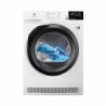 Sušička PerfectCare 800 EW8H458BC značky Electrolux disponuje kapacitou až 8 kg prádla, které můžete vysušit a také nízkou spotřebou energie (energetická třída A++). Invertorový motor zaručí dlouhou životnost, nízkou hlučnost a hlavně vysoký výkon (lze nastavit extra tichý mód). Zajistí maximální péči a šetrnost jakémukoli typu prádla. Spotřebič je vybaven LCD displejem a osvětlením bubnu.