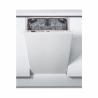 Jedná se o vestavnou myčku nádobí značky Whirlpool WSIO 3T125 6PE X, kterou si můžete zabudovat do kuchyňské linky. S touto myčkou nádobí ušetříte energii, protože její spotřeba je velmi nízka (energetická třída A++). Maximální kapacita jídelních souprav je 10. K dispozici máte výběr ze čtyř teplot a osmi programů. Maximální hlučnost nepřesáhne 45 dB.