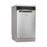 Volně stojící myčka nádobíod Whirlpool WSFO 3O23 PF X Vám zaručí nízkou spotřebu energie, protože je zařazená do energetické třídy A ++. Spotřeba vody je 9 l na jeden mycí cyklus. Poskytuje maximální kapacitu 10 jídelních souprav.  Zabezpečuje tichý provoz, hlučnost je jen 43 dB.