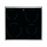 Tatosklokeramická varná deskaznačkyELECTROLUX EHF6240XXKnabízíčtyři různě veliké varné plotny, které se přizpůsobí kuchyňskému nádobí. Varné zóny seovládají jednoduše pomocí tlačítek na dotek. Indikátor zbytkového teplaukazuje, která varná zóna je stále horká. Dětská pojistkaaautomatické vypnutí varné deskyje výhodou.