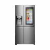 Dvoudveřováamerická chladnička LG GSX961NSAZ patří do energetické třídy A++ (nízká spotřeba energie). Celkový objem chladničky je 601 l. Nabízí automatický výrobník ledu. Možnost připojení k WiFi. Výhodou je tichý provoz s maximální hlučností 39 dB.