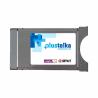 Jde o přístupový dekódovací modul k bezkartové službě Plustelka. Je vhodný k zařízení s tunerem DVB-T2. K dispozici je 14 neplacenýcha 9 placených programů. Programy jsou dostupné ve čtvrtém multiplexu.