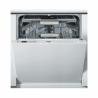 Tato vestavná myčka nádobí Whirlpool WIO 3T133 DEL je zařazená do energetické třídy A +++, čím je zaručena nízká spotřeba energie. Velkou výhodou je tichý provoz smaximální hlučností jen 43 dB. Kapacita myčky je až 14 jídelních souprav. Součástí je až 11 programů. Kdispozici je možnost nadstavení 3 teplot.