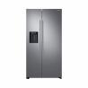 Dvoudveřováamerická chladnička Samsung RS67N8211S9 patří do energetické třídy A++(nízká spotřeba energie). Tichý provoz s maximální hlučností 39 dB. Celková kapacita chladničky je 407 l a mrazničky 202 l. Dokáže zmrazit až 12 kg potravin za 24 hodin.