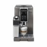 Automatický kávovar DELONGHI DINAMICA ECAM 370.95.T disponuje tlakem 19 barů. Kapacita zásobníkuna vodu je 1,8 l. Objem zásobníkuna kávu je 300 g.  Celkový příkon je 1450 W. Připravit můžete až dva šálky kávy najednou.  Kávovar ovládáte pomocí dotykového displeje. Výhodou je samočistící systém.