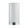 Provedení elektrického ohřívače Ariston Velis EVO PLUS 50 je v barvě stříbrného kovu. Jeho válcová nádrž má objem 45 l. Inovační ekonomicky úsporný program ECO EVO a místu šetrná konstrukce s dvojitou nádrží dokáží ušetřit náklady na elektrickou energii, která se sníží až o 14 %.  Aktuální informace o ohřáté teplé vodě můžete zjistit prostřednictvím zabudovaného BLUETECH - LED displeje, který zobrazuje počet možných sprch a také čas, za kolik se ohřeje na další sprchy. Bojler disponuje funkcí rychlého ohřevu, která ohřeje vodu za 50 minut. Bojler řadíme do energetické třídy B. Ariston Velis EVO PLUS 50 je univerzální a instaluje se na stěnu svisle nebo vodorovně, podle potřeby.
