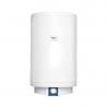 Nástěnný elektrický ohřívač vody řady EOV má válcové provedení. Její kvalitně oboustranná smaltovaná nádrž disponuje celkovým objemem 80 l. Dlouhou životnost zaručuje nerezová příruba s nerezovým topným tělesem (2 kW). Potřebnou teplotu vody lze nastavit otáčivým regulátorem. Na přední straně nádrže je umístěn indikátor pro vizuální kontrolu teploty vody. Bojler patří do energetické třídy C. Tatramat EOV 80 je určen pro vertikální instalaci na stěnu.