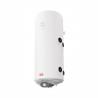 Svislý nástěnný kombinovaný ohřívač ELÍZ EURO 120 TR nabízí ohřívání elektrickým tělesem anebo výměníkovým způsobem (možno připojit externí zdroj, např. ÚT). Ohřívač má příkon 120 l a úspornýprovoz v energetické třídě B. Energetickou efektivitu zlepšuje také kvalitní polyuretanová 33 mm izolace bez CFC. Kapacita nádrže 120 kW postačí i pro více odběrných míst. Termostat tohoto zařízení je nastavitelný v širokém teplotním rozsahu 7 - 75 °C. Ochranu pláště před mechanickým poškozením zajišťuje zirkonový smalt a dvě hořčíkové anody, které brání vnitřní korozi.