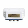 Přepínač Amiko D 201 DiseqC 1.0je určenýk přepínaní mezi 2 satelitními LNB konvertory. Používá seuvnitř, ale i venku, kde ale musí být v plastovém krytu. Frekvenční rozsah 950 - 2400 MHz.