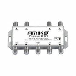 Prepínač Amiko D 801DiseqC 1.2