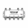 MultipřepínačAmiko D 801DiseqC 1.2 jeurčený pro 8 družic. Disponujejedním výstupem. Frekvenční pásmo950 - 2150 MHz. Pokud budete chtít přepínač umístitven, tak ho musíteuložit do plastové skříňky.