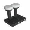 LBN konvertor značky Zircon Twin M-0243 Slim line. Šumové číslo je vyhovujících 0,2 dB. Hmotnost konvertoru je jen 260 gramů. Vhodný pro 80 cm parabolu.