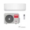 Nástěnná klimatizace VIVAX ACP12CH35AERI disponuje výkonem 3520 W. Je vhodná do místnosti, která má do 45 m2. Součástí tohoto setu v R designu je i vnitřní a venkovní jednotka. Se speciální technologií 3D invertoru máte zaručenou nízkou spotřebu energie, dlouhou životnosta tichý provoz. Bio filtr a ionizátor zabezpečí maximální čistotu vzduchu, což uvítáte zejména pokud máte v domácnosti alergiky nebo malé děti. Klimatizace je zařazená při chlazení do energetické třídy A ++ a vytápění do A +. Pokud si dokoupíte WiFi modul dokážete ovládat zařízení pomocí WiFi.