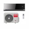 Nástěnnou klimatizaci VIVAX ACP12CH35AEVI nabízíme v té nejlepší a nejvyšší kvalitě. Díky 3D invertorové technologii je zaručen tichý provoz, úspora energie a dlouholetá kvalita. Součástí vnitřní jednotky je bio filtr a ionizátor. Součástí venkovní jednotky je ohřívač kompresorua kondenzátor.  Vzduch proniká do každého rohu místnosti, protože proudění vzduchu je 3D. Pokud si zakoupíte i WiFi modul je možné rozšířit funkce klimatizace. Výhodou je časovač, který slouží na zjištění spotřeby energie. Sestavu ve V designu tvoří venkovní i vnitřní jednotka. Výkon chlazení představuje 3517 W a výkon vytápění 3810 W.
