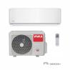 Nástěnnou klimatizaci Vivax ACP-18CH50AERI nabízíme v R designua disponuje venkovní i vnitřní jednotkou. Výkon chlazení představuje 5280 W a výkon vytápění 5570 W. Klimatizace je vhodná do místnosti, která má do 80 m2. Energetická třída chlazení je A ++, energetická třída vytápěníje A +. Speciální technologie 3D invertoru výrazně šetří energii, zabezpečuje tichý provoz a dlouhou životnost. Pokud si dokoupíte WiFi modul je možné klimatizaci napojit na WiFi.