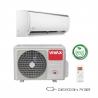 Klimatizace na stěnu Vivax ACP-12CH35AEQI disponuje inteligentní funkcí rozmrazování. Součástí vybavení je digitální displej. Autodiagnostika poruch pomáhá předcházet větším problémům. Výkon chlazení je 3520 W a výkon vytápění 3810 W. Energetická třída chlazení/vytápění = A++/A+. Zařízení je vhodné do místnosti, která má do 45 m2. O čistotu vzduchu se stará bio filtr a funkce samočištění.