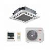 Klimatizace Vivax ACP-12CC35AERI pro stropní instalaci. Tento set vnitřní a venkovní jednotky obslouží prostor o velikosti 45 m2. Úsporné klimatizování s energetickou třídou A++ (vytápěníA+). Automatická diagnostika a restart s pamětí nastaveného programu při výpadku elektrické energie. Prachový a katalytický filtr zajistí čistý vzduch bez čpavku a prachových částic. Dokonalá distribuce proudění vzduchu díky 360°Air Flow panelu.