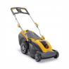 Akumulátorová sekačkaSTIGA SLM 540 AEbez pojezdu. Šířka záběru 40 cm pro sečení plochy až do350 m2. Součástí je baterie s kapacitou4,0 Ah / 48 Va nabíječkou. Koš na trávu s objemem40 litrů (volitelné i mulčování a zadní výhoz). Nastavitelná výškastřihu 25 - 75 mm.