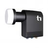 Jedná se o inovovaný LNB konvertor, který je kompatibilní s multipřepínačem Unicable. Umožní připojení až 4 tunerového přijímače.  Nízké šumové číslo 0,2 dB a vysoký zisk 57dB. Součástí je výstupní konektor F.