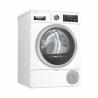 Sušička prádla BoschWTX87KH1BYpatří do energetické třídy A++. Maximálníhmotnost prádla, která se vejde do sušičky -9 kg. Hlučnost sušičky - 62 dB. Funkce Odložený start. Výhodou jei samočistící kondenzátor bez nutnosti čištění filtru. O probíhajícím cyklu Vás bude informovatpřehledný displej.