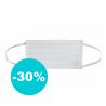 Ochranná rouška je vyrobená ze 100 % polypropylenu. Hrubost vlákna představuje 0,99 mm. Rouška je jednovrstvá. Nabízíme ji v barvě: zdravotnická bílá.