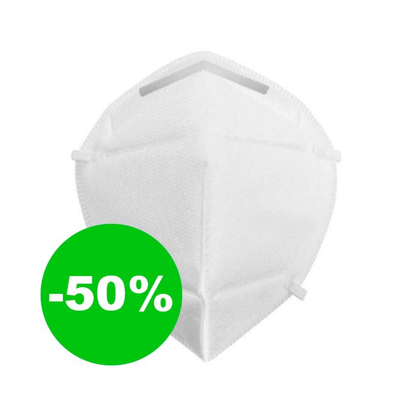 Ochranná maska zachytí 99 % virů (bez výdechového ventilu)