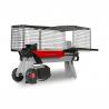 Štípačka dřívíVARI 5T slouží k horizontálnímuštípání dřeva. Robustní konstrukces přímým tlakem pístu. Elektromotor seštípacím tlakem 5 tun. Madlo a kolečkaslouží k jednoduché manipulaci. Možnost přikoupenístajnu ke snadnější práci.