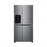 Tato americká chladnička LG GSL471ICEZ disponuje čistým objemem 601 l. Je zařazená do energetické třídy F - energetická norma 2021, čímž máte zaručenou nízkou spotřebu energie. Energetické třída A ++. Mrazicí výkon představuje 12kg/24 h. Akumulační doba je 10 h. Provoz je tichý s maximální hlučností jen 39 dB. Regulace teploty je oddělená (samostatně pro chladicí část/samostatně pro mrazicí část).