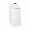 Pračka s vrchním plněnímWhirlpool TDLR 55111má vysokou účinnost praní. Patří do energetické třídy A++ (nízká spotřeba energie a vody). Maximální rychlost odstřeďování dosahuje 1000 ot./min. a vypere až 5,5 kg prádla. Pro svoje rozměry vhodná do každé domácnosti.