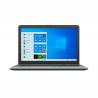 """Notebook AsusX540MA-DM984T Silver Gradient disponujeúhlopříčkou 15,6"""". Rozlišení displeječiní1920 x 1080 px. Dvoujádrový procesor. Grafická karta:Intel UHD Graphics 600. Kapacita operační paměti-4 GB. Úložiště -1 000 GB. Výdrž baterie -6 h."""