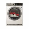 Sušička AEG AbsoluteCare T8DEE68SC vysuší dokonale jakékoli prádlo. Během sušení nepoškodí žádné prádlo a vysuší všechny druhy prádla. Od jemných svetrů, až po hrubé bundy nebo svetry zvlny. Spotřebič u krátkých cyklů sušení dosahuje stejného efektu, jako mají tradiční sušičky s delším cyklem. Sušička AEG AbsoluteCare T8DEE68SCmá nízkou spotřebu, a proto patří do energetické třídy A+++.