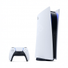 Sony vydalonovou edici Sony PlayStation 5 a tentokrát s novinkou Digital Edition - bez mechaniky. PlayStation je vybavený8 jádrovým procesorem. Grafická karta:AMD Radeon Navi. SSD disk má kapacitu:825 GB. Zaručenýmaximální výkon 4K. Součástí herní konzoli je ovladač DualSense s haptickou odezvou. Na ovladači je k dispoziciintegrovaný mikrofonpro komunikaci s hráči a ireproduktor.