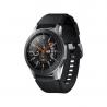 """Chytré hodinky Samsung Galaxy Watch 46 mm jsou kompatibilní s operačním systémem: Android, iOS. Chytré funkce:upozornění z mobilu, přehrávač hudby, ovládání mobilního telefonu, vibrace, stav baterie, hledání mobilního telefonu. Kombinované zobrazení času. Úhlopříčkadispleje činí 1,3"""". Běžná výdrž baterie - 80 h. Aktivity:běh, triatlon, cyklistika, plavání, fitness, lyžování, golf, veslování, jachting, chůze, jóga, horolezectví, potápění, turistika."""