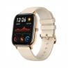 Tytochytré hodinky Xiaomi Amazfit GTS Gold jsou kompatibilnís operačním systémem:Android 5.0, Android 6.0, Android 7.0, Android 8.0, Android 9.0, iOS 10 a iOS 11. Nabízíme je vezlatém provedení. Řemínek:silikonový. Funkce:upozornění z mobilu, vibrace, stav baterie, hledání mobilu, měření tepu, monitoruje spánek, krokoměr, výpočet kalorií, intervalový trénink, měření vzdálenosti, měření tempa, stopky, budík. Seznam aktivit:běh, triatlon, cyklistika, plavání, fitness, lyžování, chůze a outdoor. Výhodou je vodotěsnost do 50 m. Výdrž baterie:336 hodin.