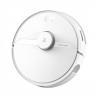 Robotický vysavačXiaomi Roborock S6 Purev bílé barvě. Multifunkční vysavač s funkcí vytírání (integrovaný mop). Aktivnísenzory rozpoznají překážky (části nábytku, schody,…). O dokonalou orientaci v prostoru se postarálaserová navigace LIDAR. Sací tlak s2 000 Paa zanedbatelnou hlučností (50 - 65 dB). Velká sběrná nádobana prach (460 ml) a vodu (180 ml).