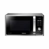 Mikrovlnná trouba Samsung MS23F301TASs digitálním displejem. Mikrovlnný výkon 800 Wa 6 nastavitelných výkonnostních stupňů. Funkce Healthy Cooking(zdravé vaření) - smart programy podle druhu potravin. Vysoce odolný povrchs keramickým smaltem. Moderní černý designv kombinaci s leštěnou nerezovou ocelí.