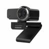 Webkamera Ausdom AW635s Full HD rozlišenímse zorným úhlem60°. Součástí jeintegrovaný mikrofon. Manuálníostření. Velkou výhodou jeúčinná korekce obrazuve zhoršených světelných podmínkách. Redukce okolního ruchu.