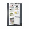 Kombinovaná chladnička Whirlpool ART 9811 SF2 určená k vestavné montáží. Chladničkadisponuje celkovým užitkovým objemem 308 l. Nízká spotřeba energie, patří do energetické třídyA++. Chladící prostorobsahuje5 skleněných polic, 1 speciální zásuvku a 4 přihrádkyve dveřích chladničky. Mrazící prostortvoří2 velké vysouvací průhledné boxy a praktická zásuvka.